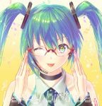 glasses miku by yumesaki-takeshi