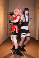 Sakura And Hinata The Last Naruto Movie 10 cosplay by MissHarunoSakura