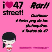 Pack de 47 STREET RAR! by EugeHermosa