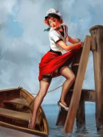 sailor by h1fey