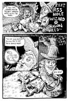 A-Hole Wizard in Dragon Weed by oh-the-humanatee