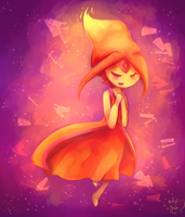 Flame Princess by honrupi