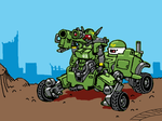 Mean Green Machine by w-oo-t