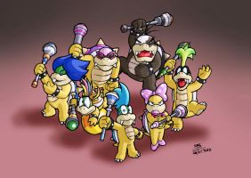 The new Koopalings by elmago6000