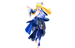 MMD Newcomer Lady of the Moon Kaguyamon by Clonesaiga
