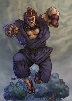 colored akuma by adagadegelo