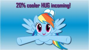 Wallpaper 20% cooler HUG incoming! by Barrfind