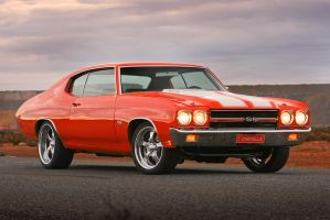 Dusk Chevelle by RaynePhotography