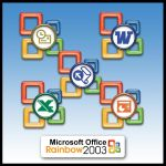 MS Office 2003 Rainbow by weboso