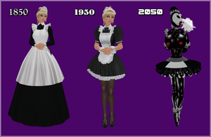 French Maids in History by TessPaige