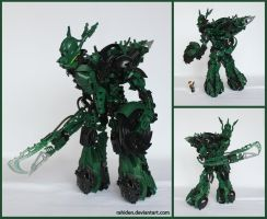 Bionicle MOC: Fellest by Rahiden