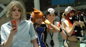 Cosplays from The World Ends With You by trivto