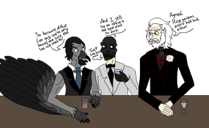 Guys Night Out by Radioactive-Cryptid