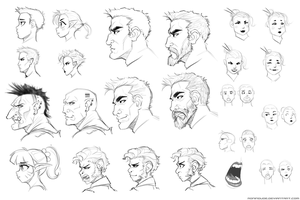 Expression Practice 11-6-14 by RoninDude