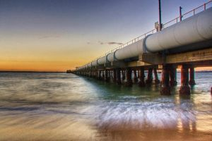 The pipeline at Kurnell by Kounelli1