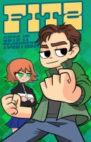 Scott Pilgrim spoof commission by Radiant-Grey