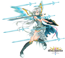 Brave Frontier - Holy Princess Sefia by SilverBreak