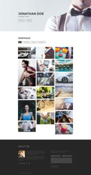 Focus - Free Photography Portfolio Template by templatewire