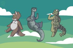 More Mini Dinos by go-ccart