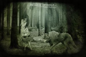 Beware of wolf by gabrielroque
