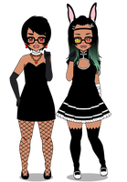 :Outfit fun: Vamps by your-INS4NITY