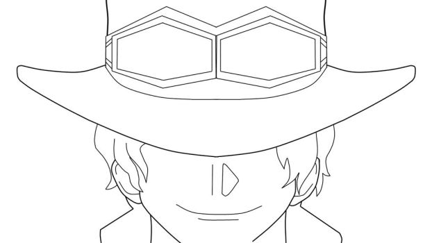 Sabo Lineart by the-names-boomer