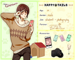 HappyTails: Greyson by Meirii