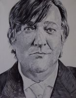 Stephen Fry by SheenaBeresford