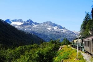 Train Over the Mountains by carolmanachan