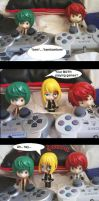 Nendo comic 14- Mello's Game by Sillaque