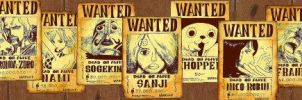 Wanted Mugiwara kit banner by San999