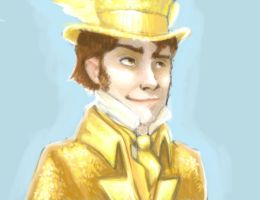 The Golden Suit Man by mjOboe