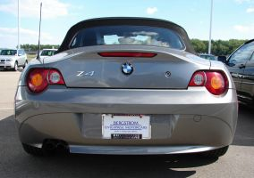 Silver BMW Z4 Convertable Car1 by FantasyStock