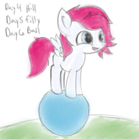 ATG2 Day 30 Redux Day 4,5,6 Filly Phoe by Muffinsforever