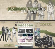 Tumblr Dash 15 -2NE1 and Infinite- by Min-Jung