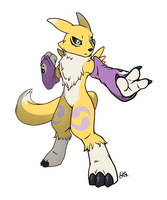 IS THAT RENAMON by OEmilyThePenguinO
