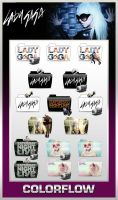 Colorflow Lady Gaga Folders by TMacAG