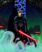 Luke Skywalker - Dark Empire by endemoniado