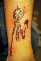 Josh Zombie Tattoo by midnightsubmission
