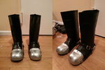 Thomas Anderson/Neo Boots WIP by StealthNinja5
