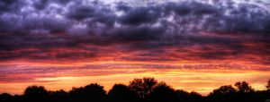 Sunset pan by digitalminded