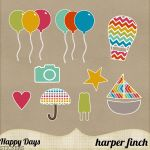 Happy Days Stickers by harperfinch