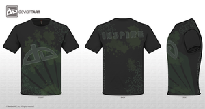 T shirt entry Inspire by supersage