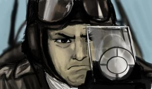 Japanese Pilot Speedpaint by grievous15