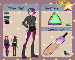 The Crystal Gems - Mystic Topaz by FrostedAlibi