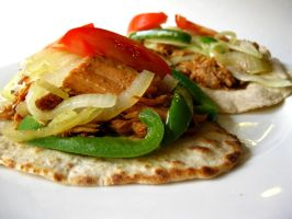 Pulled Pork Fajitas by acquiredflavor