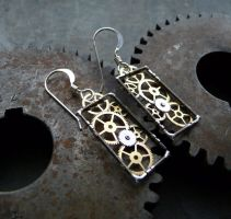 Windowpanes Gearrings by AMechanicalMind