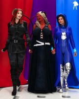 Commission: Ceara, Mira and Robin by Supro3D