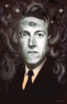 H.P. Lovecraft by MattDeMino