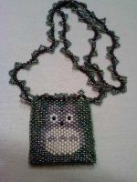Totoro Amulet Bag by Macha76